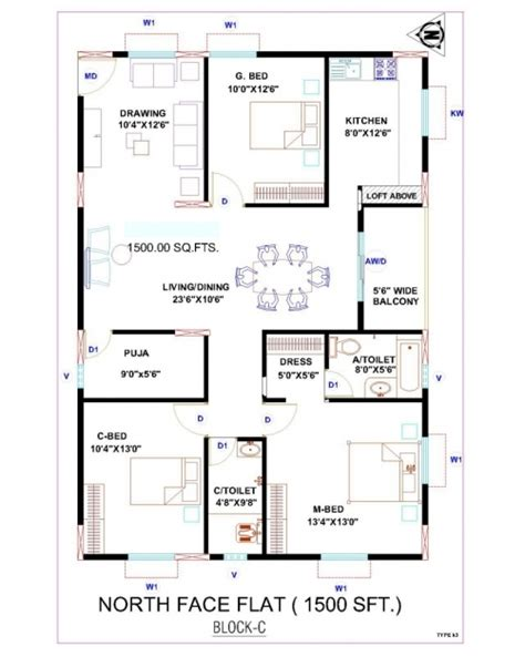 vastu floor plans north facing marvelous house plan north facing 2 bedroom house plans as