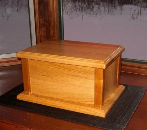 free wood cremation urn box plans build it pinterest cremation urns urn and woods