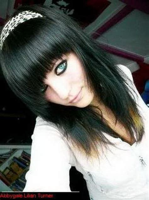 emo hairstyles in a ponytail medium emo hairstyles for girls
