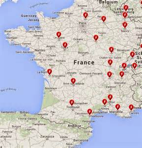 Southern France Map by South West France Map Cities Pictures To Pin On Pinterest