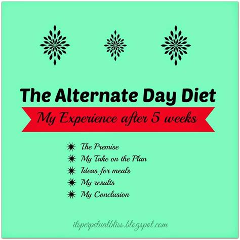 fasting day alternate day diet results healthy livin