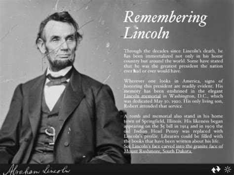 abraham lincoln biography conclusion abraham lincoln interactive biography on the app store