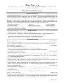 Sample Resume For Human Resources Manager human resources manager resume experience and human resources manager