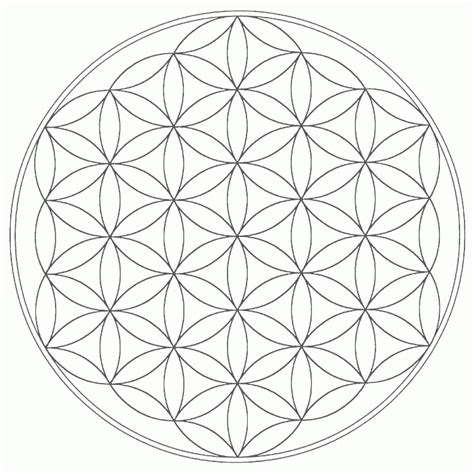real geometric coloring pages sacred geometry coloring pages coloring home