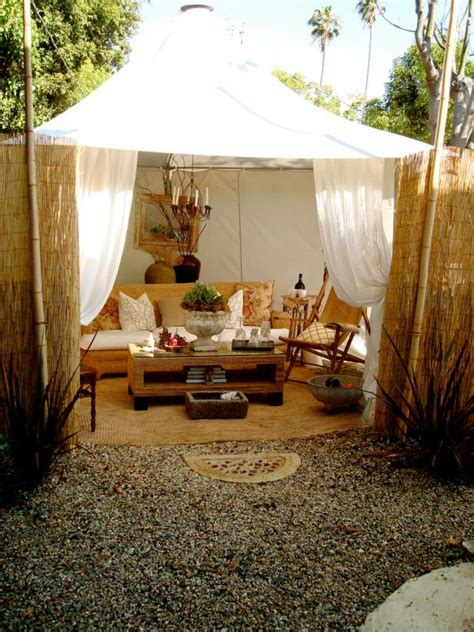 Outdoor Living Room Tent Photo Page Hgtv