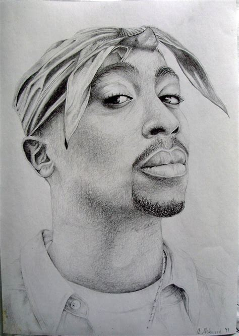 Drawing 2pac by Tupac By Anaslovakia On Deviantart