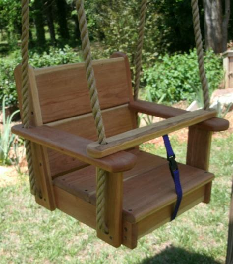 baby tree swings seat wood tree swings