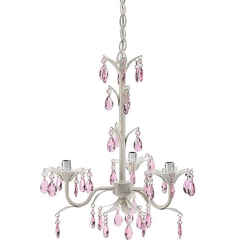 Chandelier For Baby Room by Seed Sprout Three Bulb Flower Petal Chandelier Pink