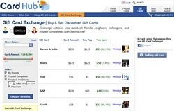 Cardhub Gift Card Exchange - card hub launches social gift card exchange