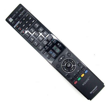 Remot Tv Sharp Lcdledtabung 4 original sharp remote gb010wjsa aquos remote