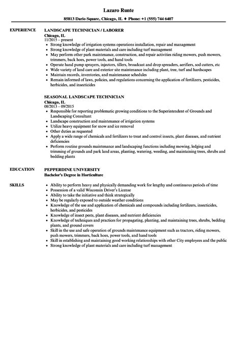 Horticulture Arborist Resume by Horticulture Arborist Resume What Information Do I Need To