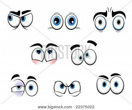 imagenes de ojos grandes chistosos ojos graciosos de dibujos animados dibujos pinterest
