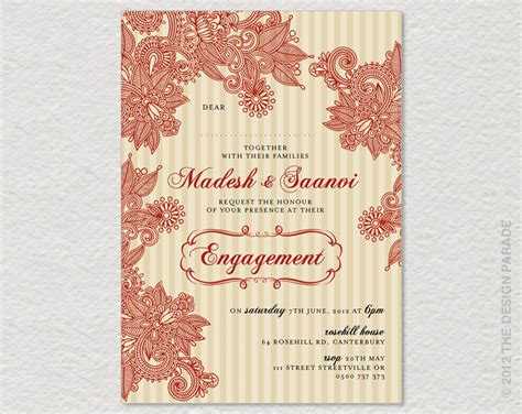 engagement invitation card indian google search