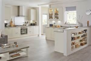 Howdens Kitchen Design burford ivory contemporary kitchen from howdens joinery