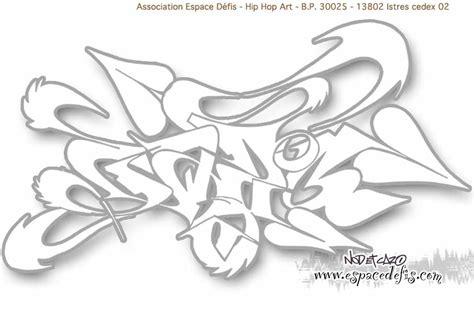 Dessin Graffiti 224 Imprimer Et 224 Colorier Espace D 233 Fis
