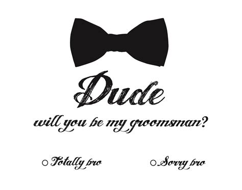 Will You Be My Groomsman Stephanieminix Com Groomsmen Template
