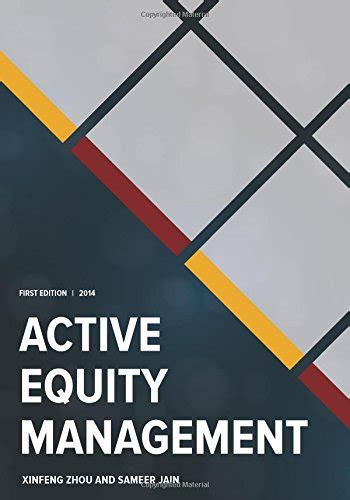 active equity portfolio management bookler quantitative equity portfolio management modern