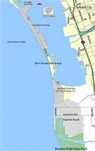 san diego map coronado island
