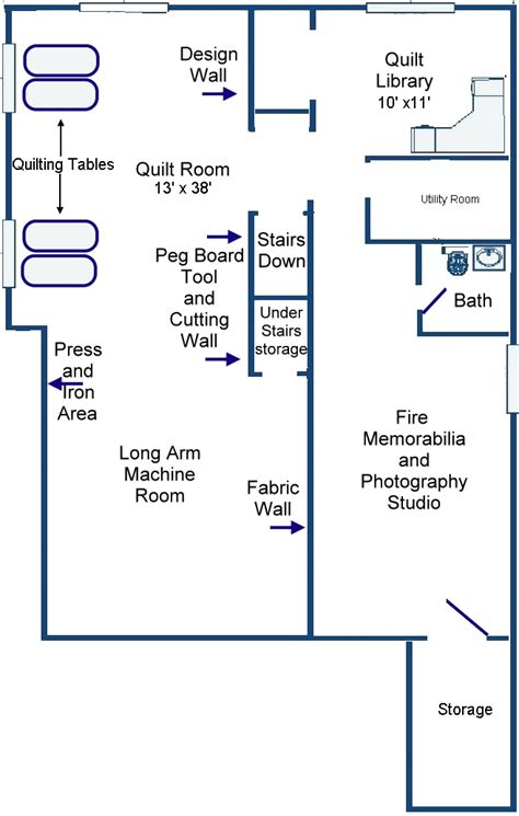 Sewing Room Floor Plans by Mary S Quilt Euphoria Amp Library And A Dream Come True