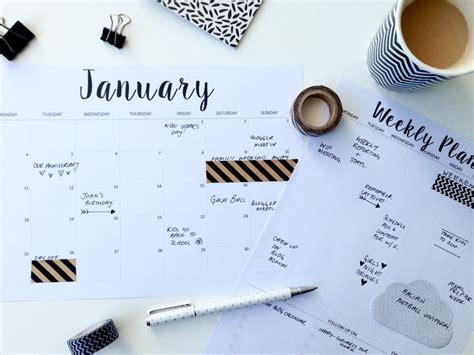 Free Calendar Planner Free Printable 2016 Planners Calendars Sparkles Of