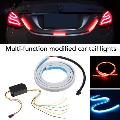 led brake light strips for cars led strip tail light bar car truck running brake reverse