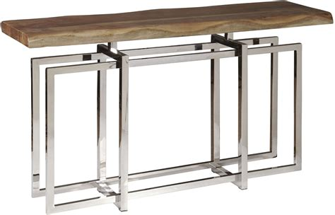 gemini console gemini medium wood console table from pulaski coleman