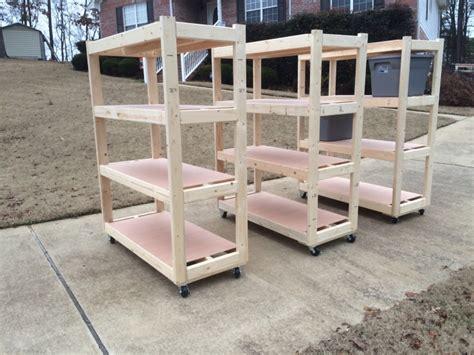 garage shelves plans garage shelves 2 kreg owners community
