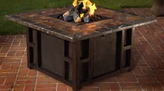 Outdoor Table With Firepit Dining Table Outdoor Dining Table With Pit