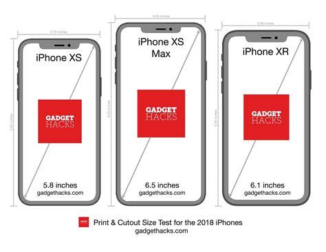 print  iphone xr xs xs max cutouts