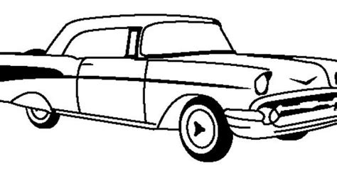 chevrolet corvette 1955 coloring page corvette car