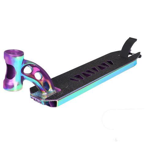 Pro Scooter Deck by Madd Vx7 Deck In Neochrome Atbshop Co Uk