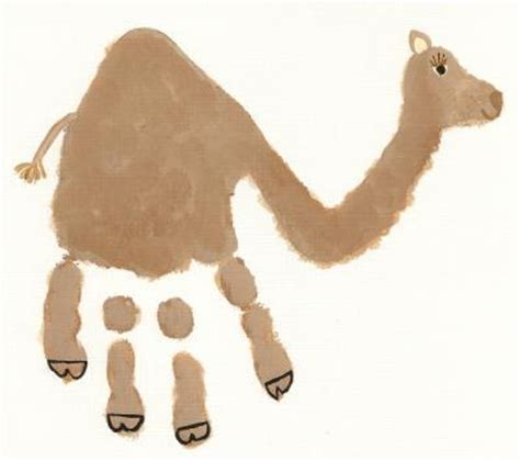 camel crafts for we being letter c camel