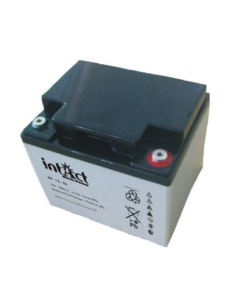 What Is A Glass Mat Battery by Intact Block Power Bp 12 50 12v Agm