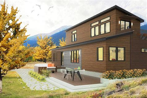 single family affordable solar homes homes releases plans for their two story prefab home inhabitat green design innovation