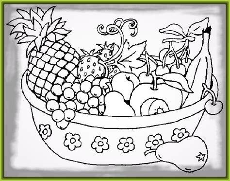 imagenes blanco y negro de frutas dibujos de frutas y verduras para colorear archivos