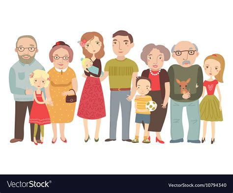 bid stock big family stock images royalty free images vectors
