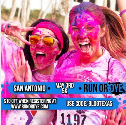 San Antonio Giveaways - run or dye san antonio 2014 giveaway coupon code your sassy self