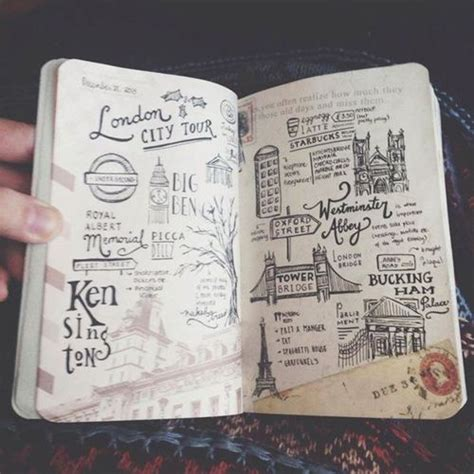 design inspiration hsc hand drawn diary via tumblr on we heart it