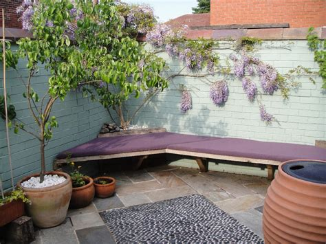 design and build of small back garden for a victorian