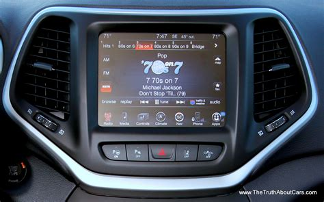 Uconnect For Jeep 2014 Jeep Limited Interior Uconnect 8 4 The