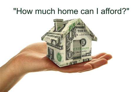 what can i afford to buy a house how much home can i afford to buy