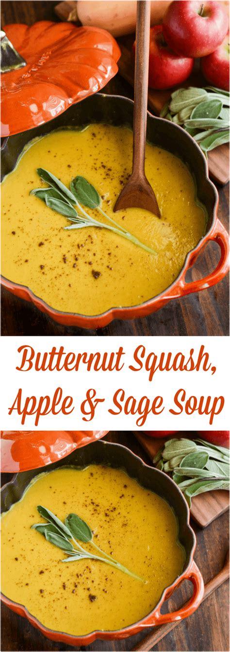 design love fest sweet potato soup butternut squash apple sage soup the novice chef