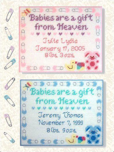 plastic canvas patterns  children babies gift