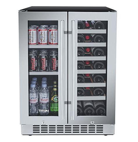 24 wine refrigerator titan 24 inch built in door wine and beverage