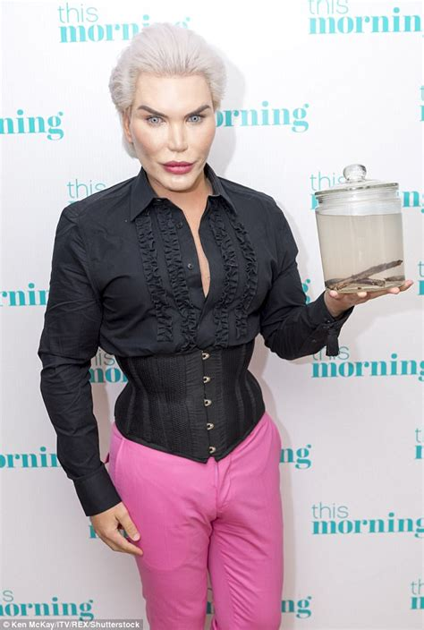 human doll ribs removed human ken doll rodrigo alves rib removal daily