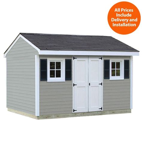 Shed Usa by Sheds Usa Installed Classic 8 Ft X 12 Ft Vinyl Shed