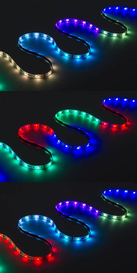 guide to led strip lighting outdoor rgb led strip light kit color chasing 12v led