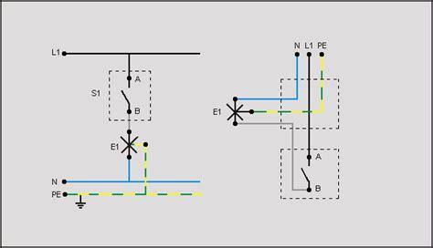 conduttore di un appartamento fig 2 1 schema funzionale di un punto luce interrotto