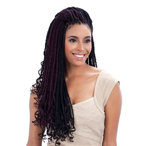 cuban hair twists cuban twist 24 quot freetress equal synthetic long marley