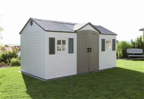 Lifetime Dual Entry Outdoor Storage Shed by Lifetime Dual Entry Outdoor Storage Shed Sams Shed Builder